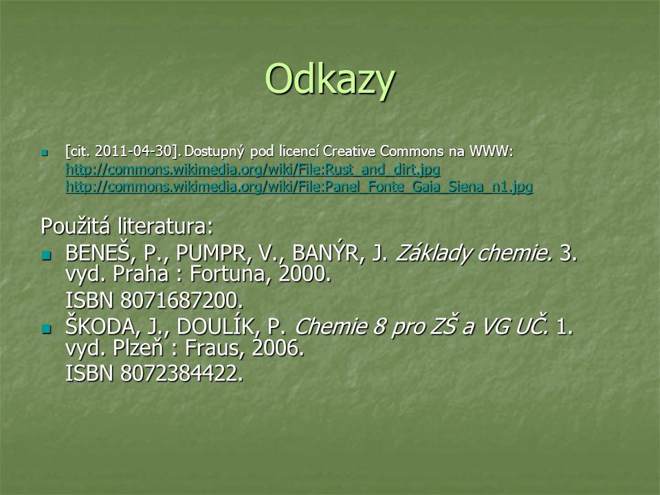 Odkazy [cit. 2011-04-30]. Dostupný pod licencí Creative Commons na WWW: [cit.