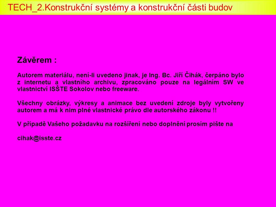 Závěrem : Autorem materiálu, není-li uvedeno jinak, je Ing. Bc. Jiří Čihák, čerpáno bylo z internetu a vlastního archivu, zpracováno pouze na legálním