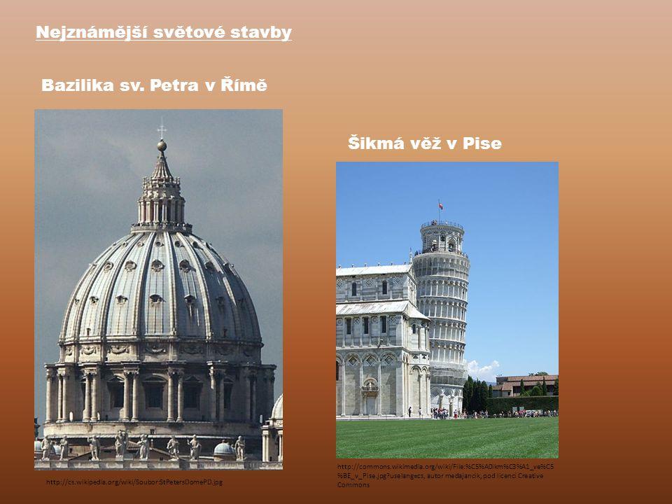Nejznámější světové stavby Bazilika sv.