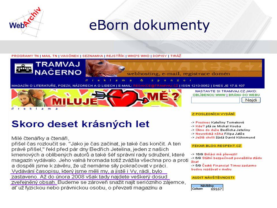 eBorn dokumenty