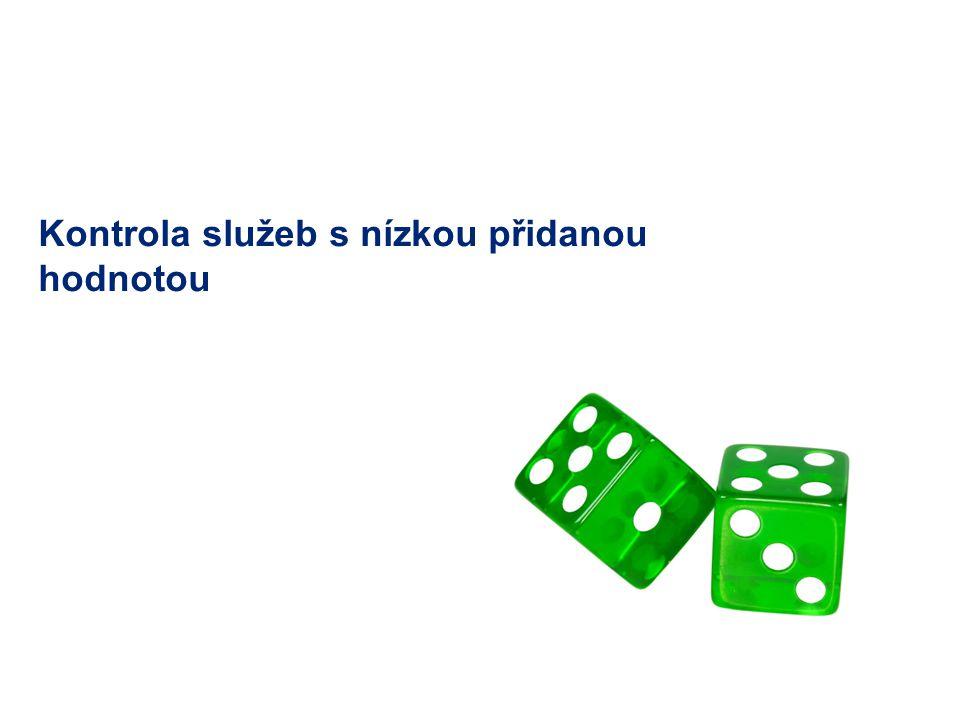 7 © 2011 Deloitte Česká republika Kontrola služeb s nízkou přidanou hodnotou Standardní přístup správce daně → benefit test: Byla služba skutečně poskytnuta.