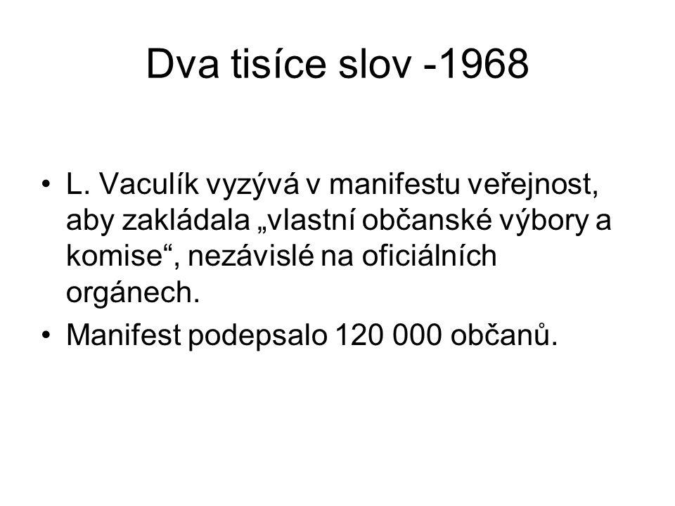 Dva tisíce slov -1968 L.