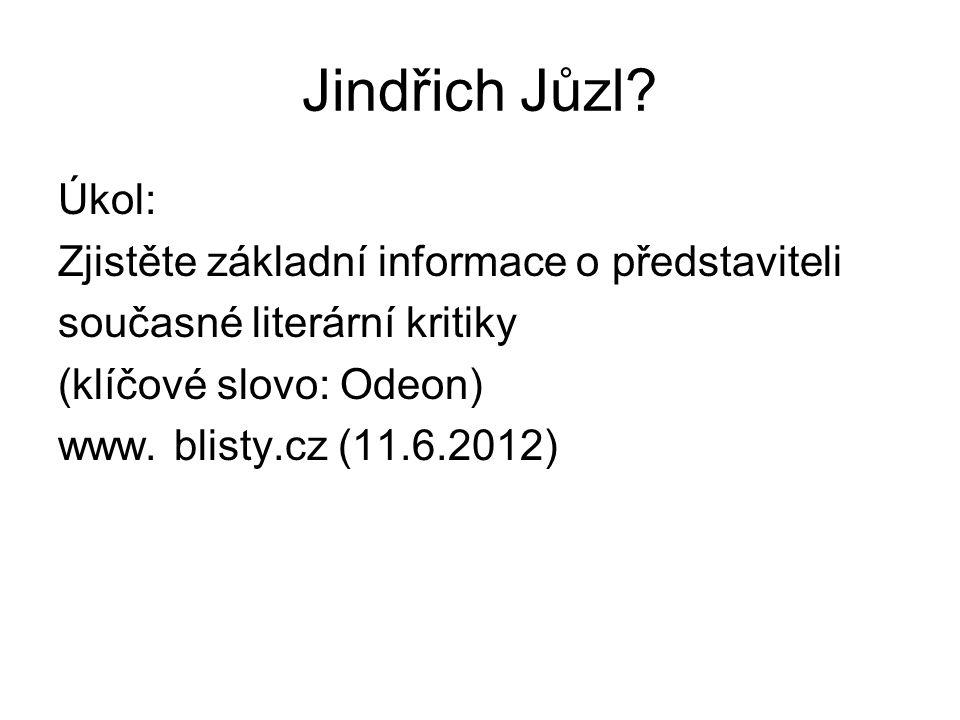 Jindřich Jůzl.