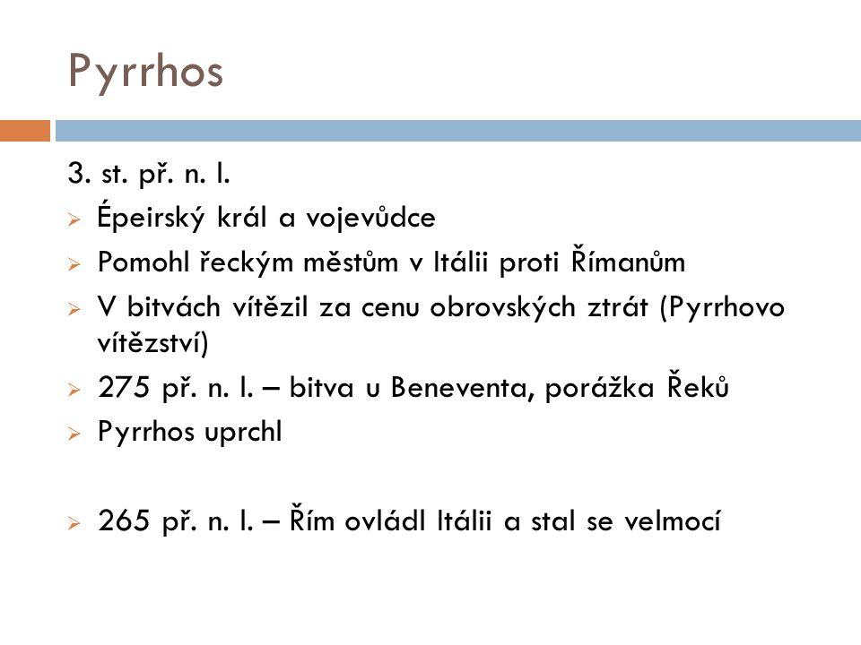 Pyrrhos 3. st. př. n. l.