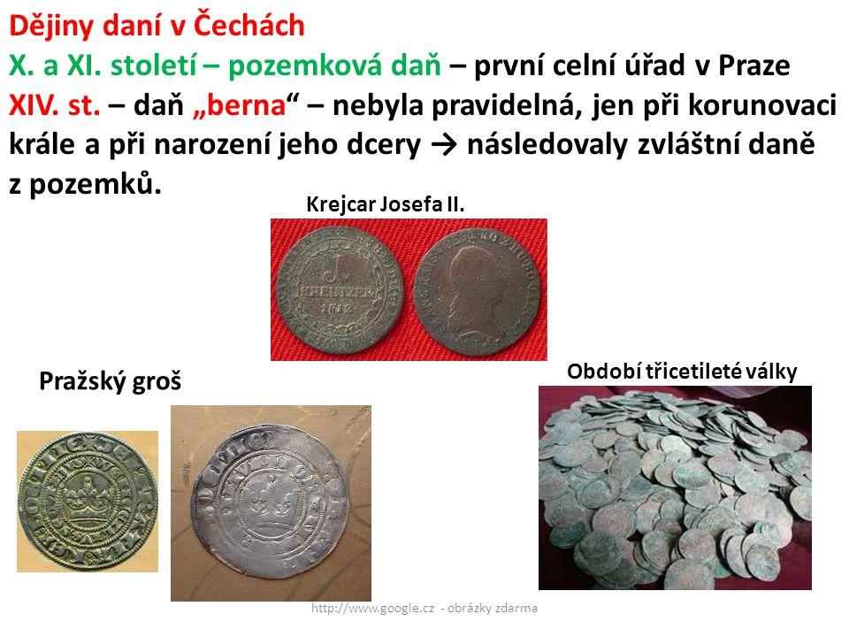 http://www.google.cz - obrázky zdarma Pražský groš Krejcar Josefa II.