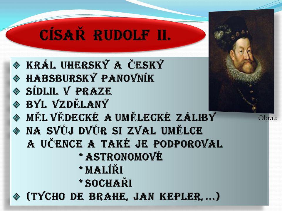 CÍSA Ř RUDOLF II.