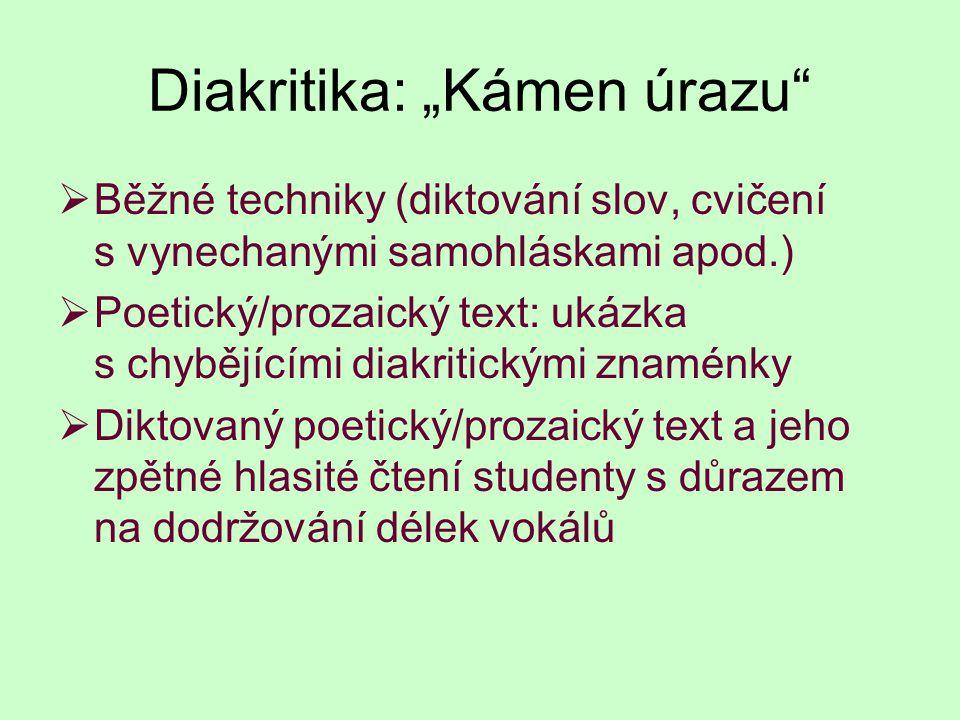 Shrnutí a jeden poetický produkt na závěr Student z Ukrajiny svojí básní svérázně vyjádřil obtížnost psaní básně.
