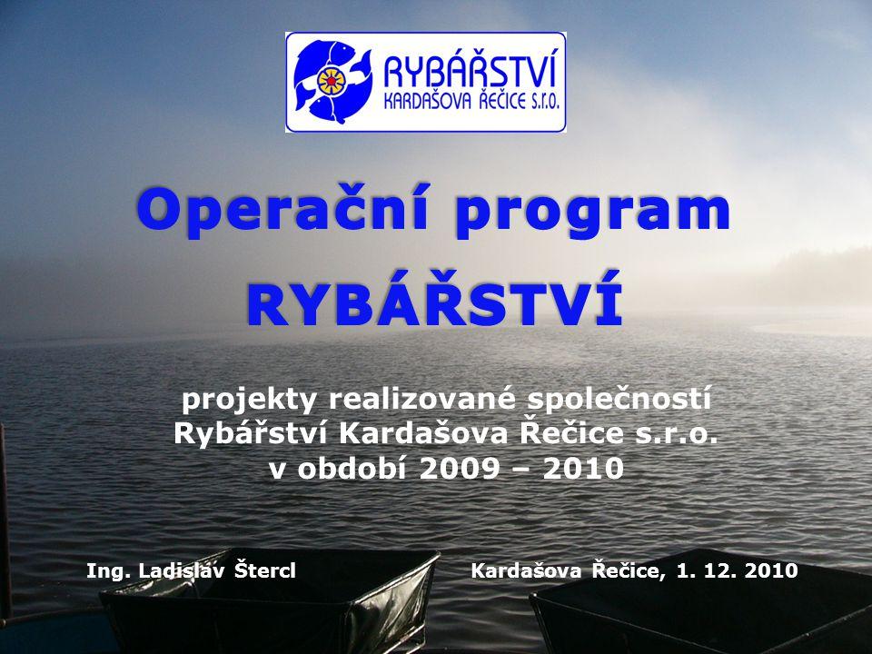 Společnost Rybářství Kardašova Řečice s.r.o.
