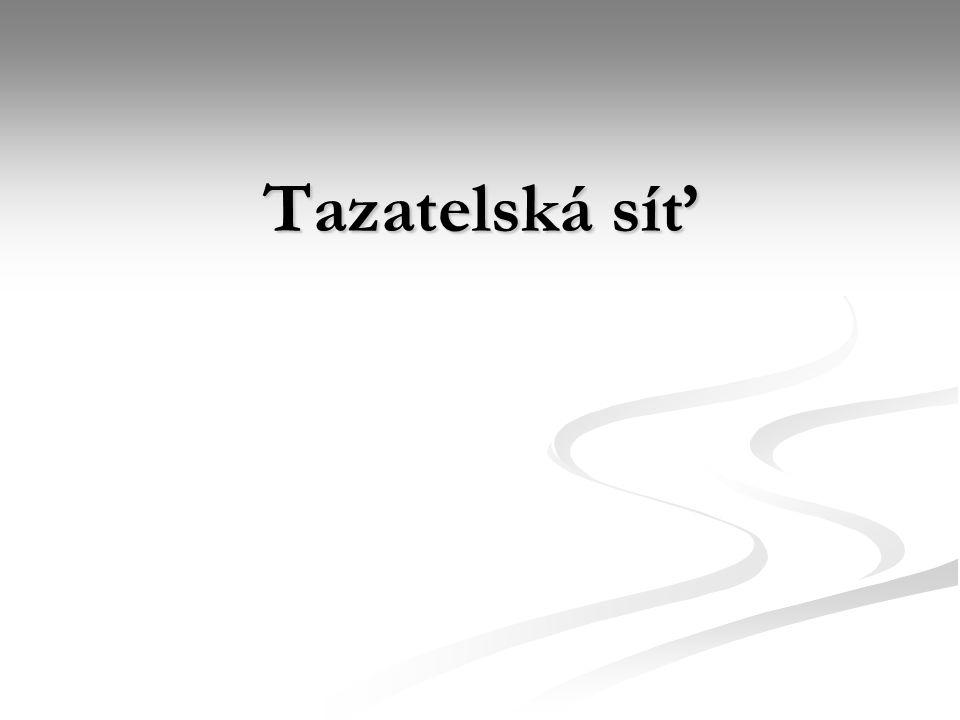 Tazatelská síť