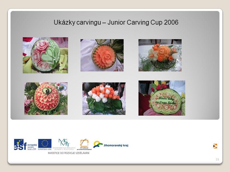 21 Ukázky carvingu – Junior Carving Cup 2006