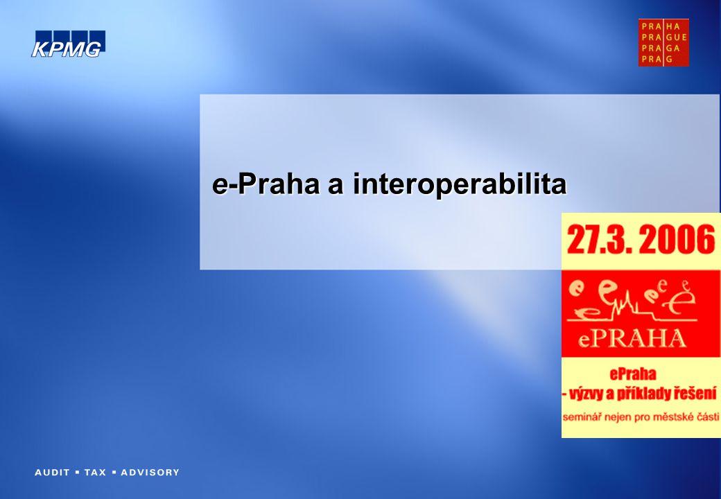 e-Praha a interoperabilita