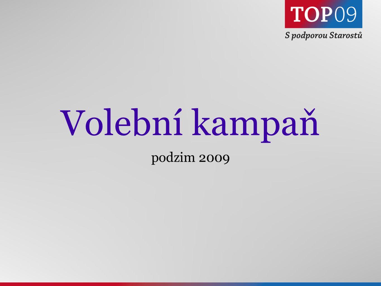 Volební kampaň podzim 2009