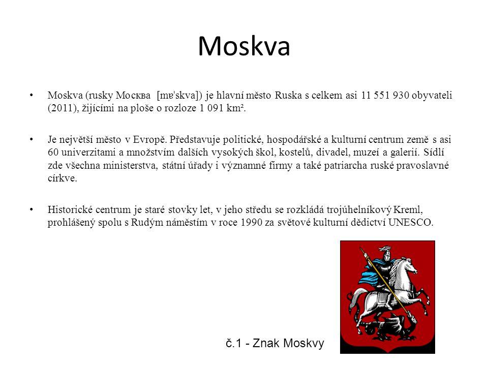 Zdroje č.1 / Wikipedie: Otevřená encyklopedie: Moskva [online].