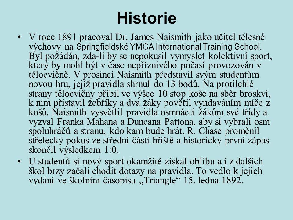 Historie V roce 1891 pracoval Dr.