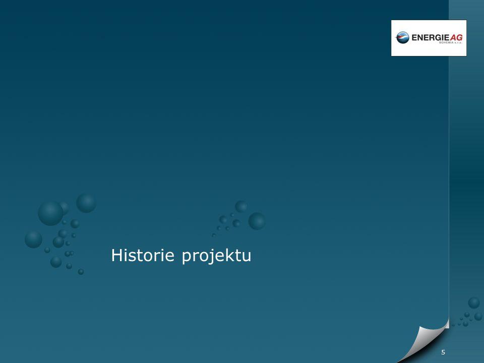 5 Historie projektu