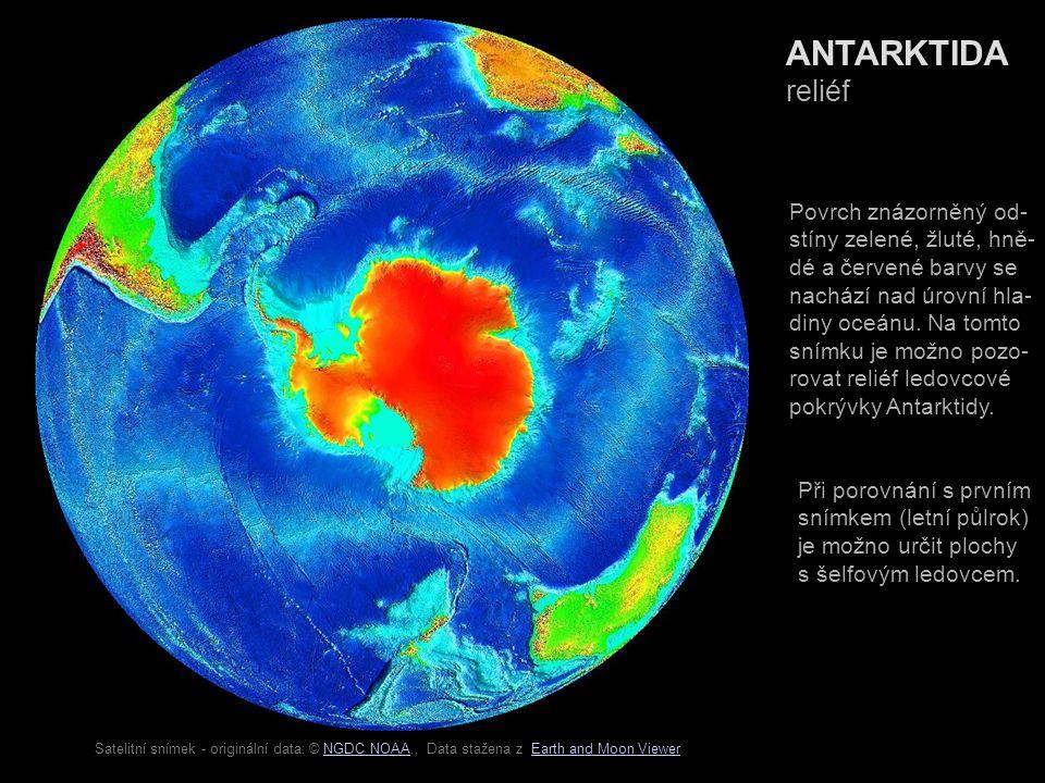 OTÁZKY A OTAZNÍKY 1)Na které měsíce připadá v Antarktidě teplý půlrok.