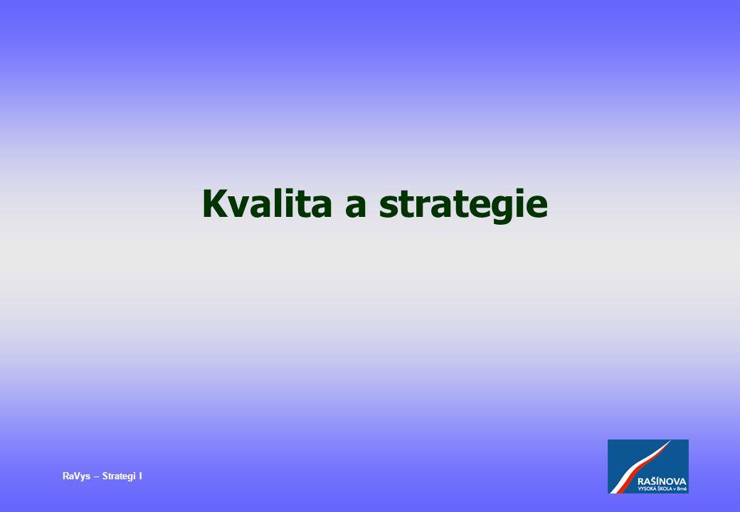 RaVys – Strategi I Kvalita a strategie