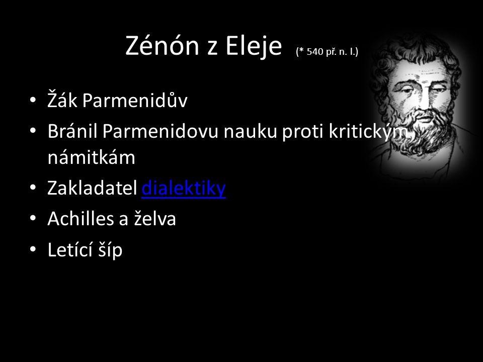 Zénón z Eleje (* 540 př. n.
