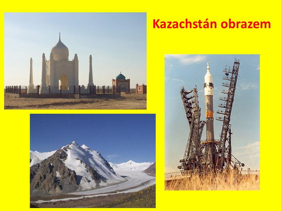 Kazachstán obrazem