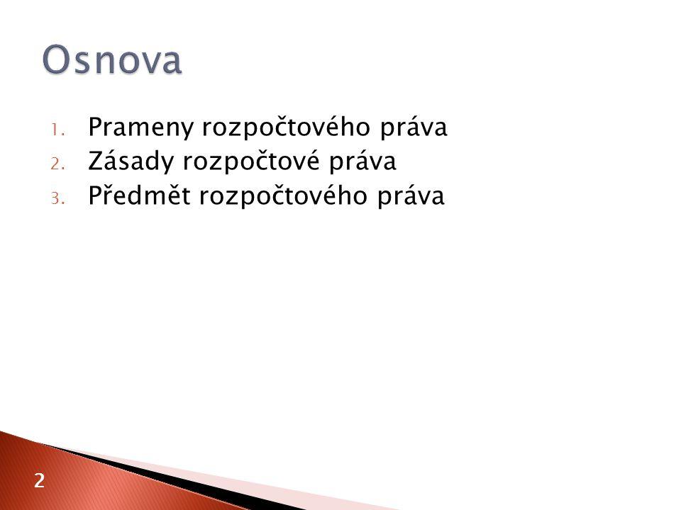  jednotné třídění příjmů a výdajů  vyhláška č.323/2002 Sb.