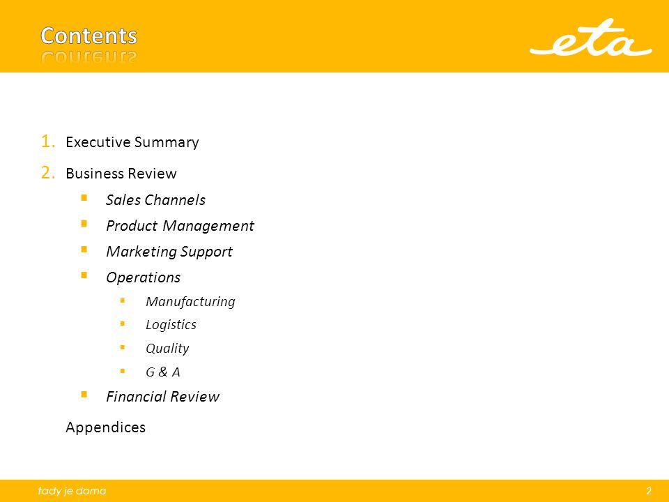 Market Share: Cumulative 12 months results for 12 SDA categories (source: GfK).