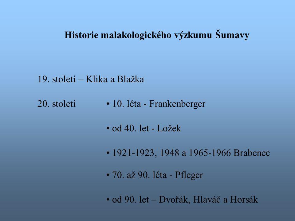 poloha České republiky a tím i Šumavy umožňuje průnik různých zoogeografických prvků