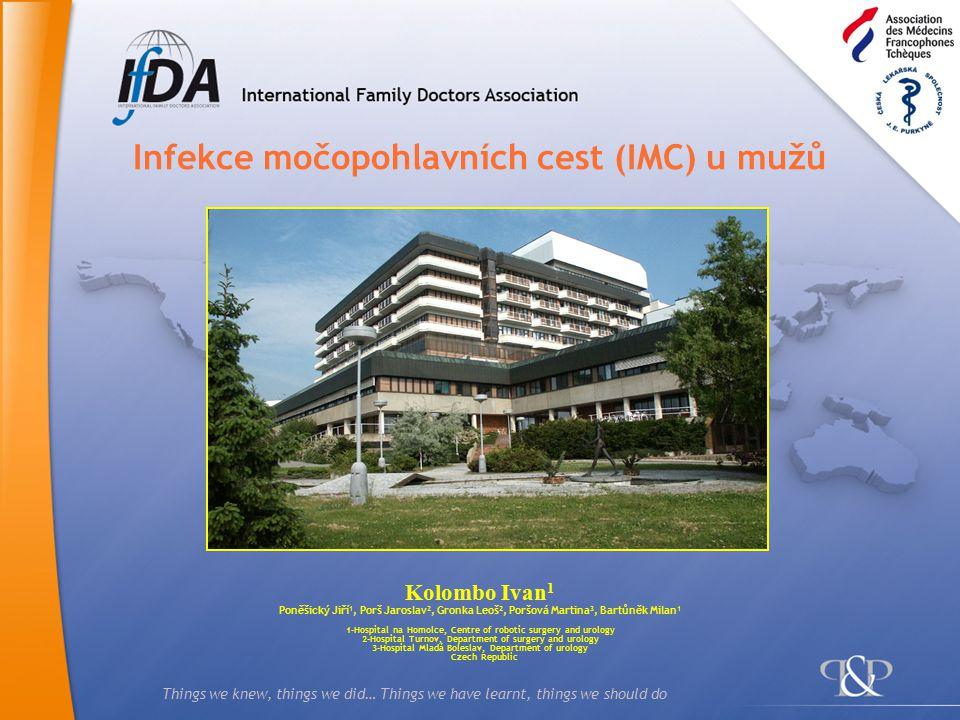 2 Co jsme věděli  IMC jsou za respiračními 2.