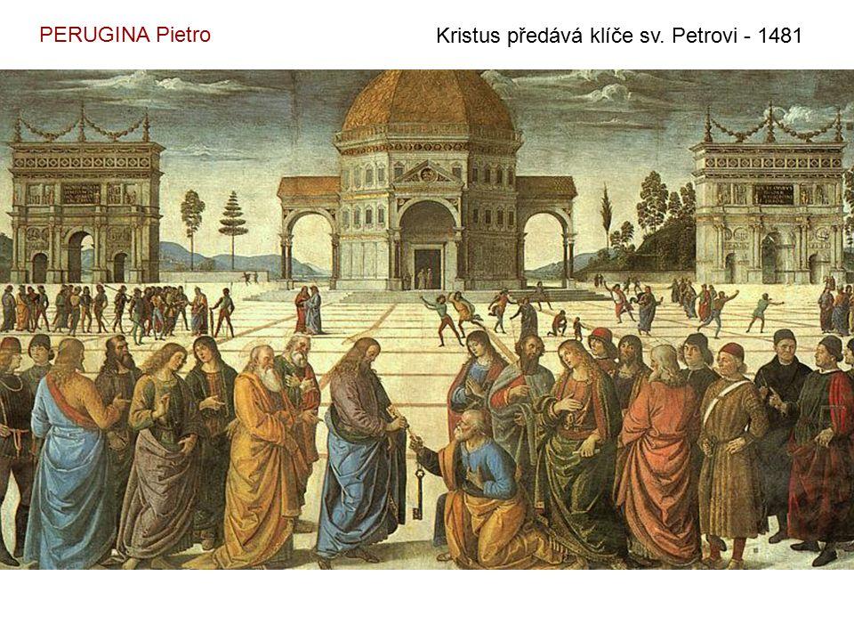 MANTEGNA Andrea Ukřižování (z oltáře v San Zeno) – 1456 - 9