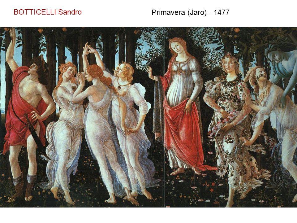 BOTTICELLI Sandro Zrození Venuše - 1480
