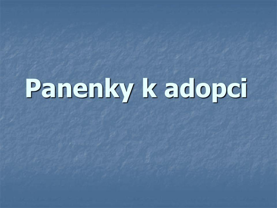 Panenky k adopci