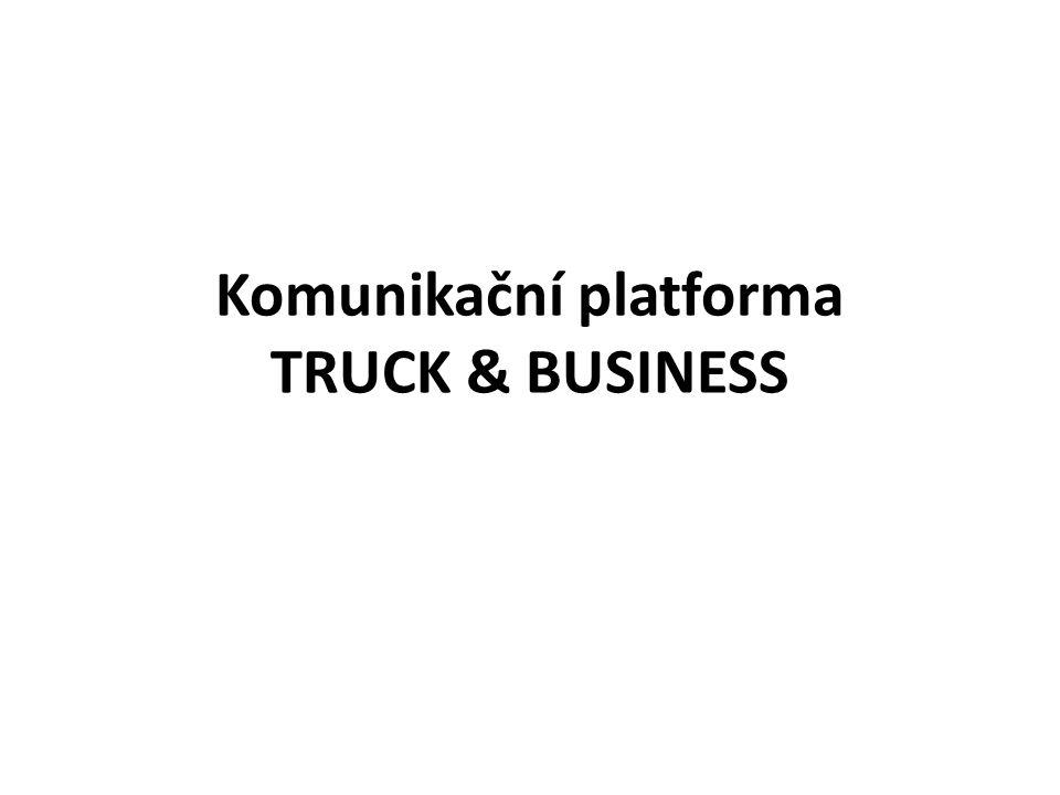 Komunikační platforma TRUCK & BUSINESS