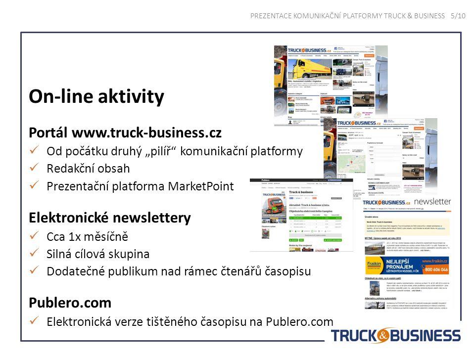 Eventy PREZENTACE KOMUNIKAČNÍ PLATFORMY TRUCK & BUSINESS 6/10