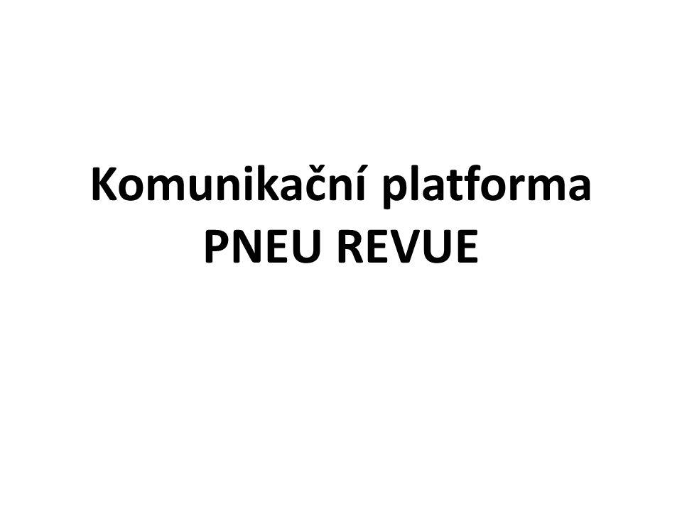 Komunikační platforma PNEU REVUE