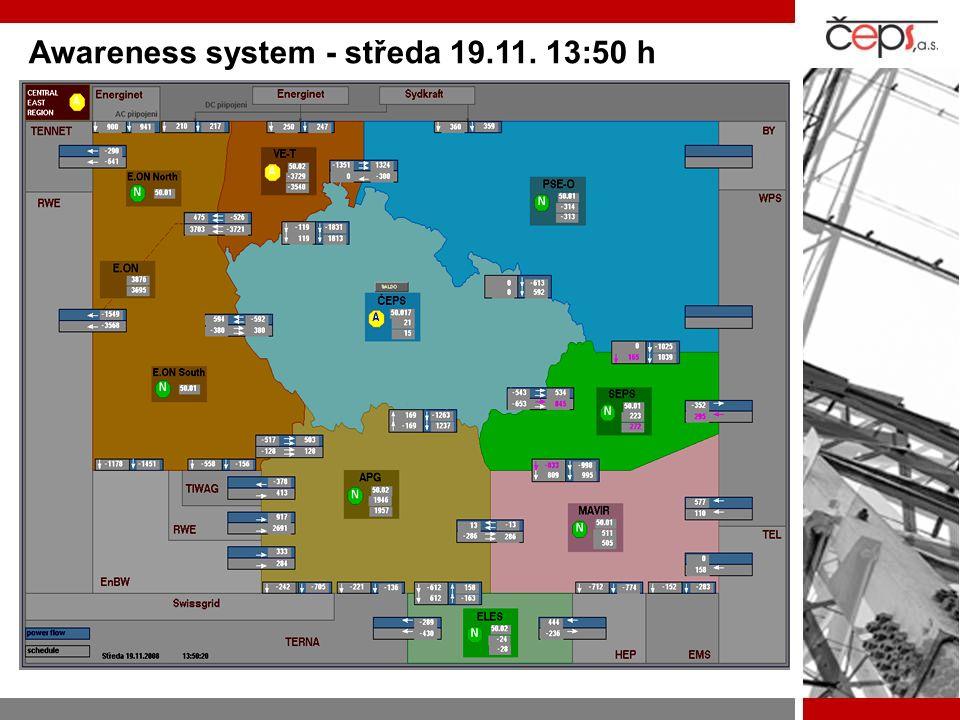 Awareness system - středa 19.11. 13:50 h