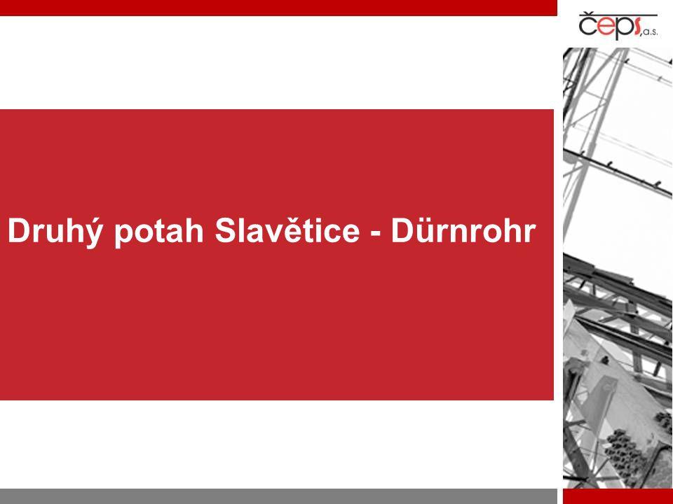 Druhý potah Slavětice - Dürnrohr