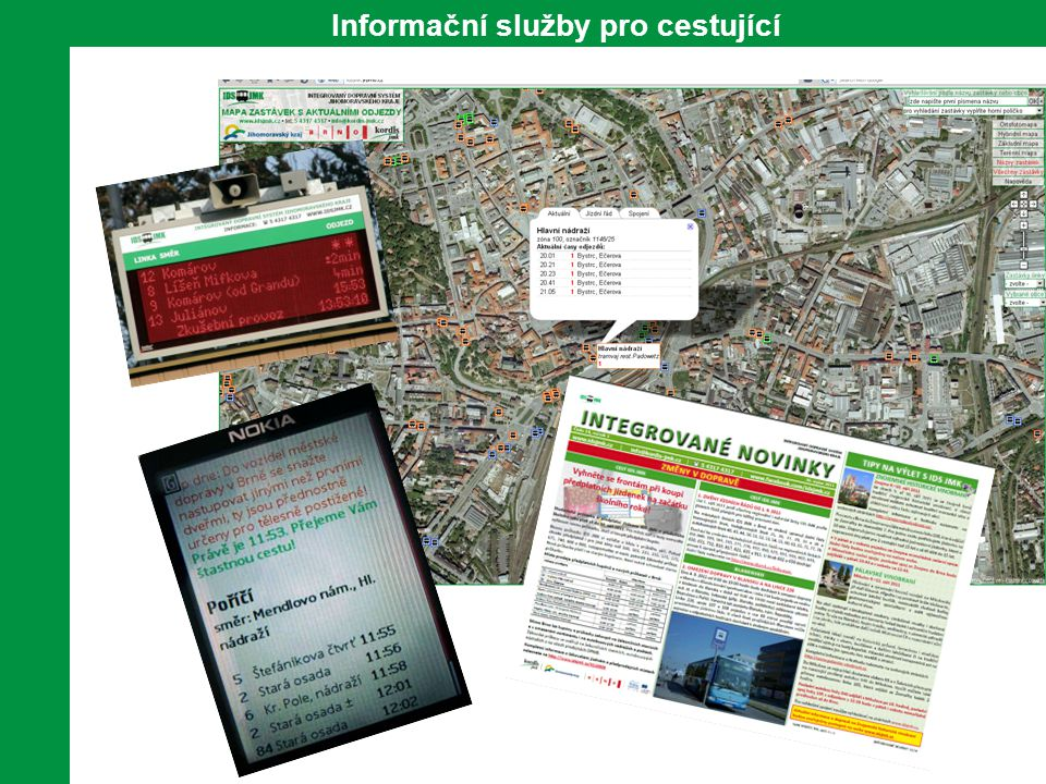 11 Informační služby pro cestující