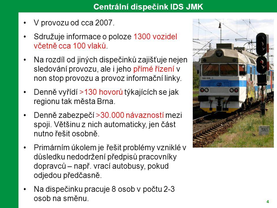 4 V provozu od cca 2007. Sdružuje informace o poloze 1300 vozidel včetně cca 100 vlaků. Na rozdíl od jiných dispečinků zajišťuje nejen sledování provo
