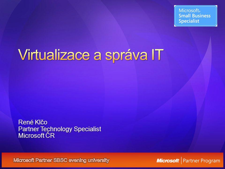 René Klčo Partner Technology Specialist Microsoft ČR