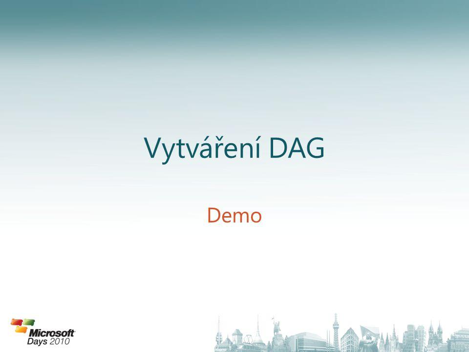 Vytváření DAG Demo