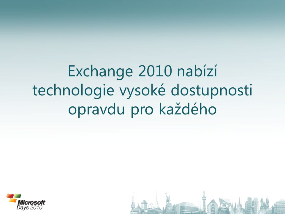 "Vlastnost Exchange store: – Get-MailboxDatabase (atribut ""RpcClientAccessServer ) Vytvoření CAS pole: – New-ClientAccessArray –Site ""Praha –name ""Praha CAS –fqdn ""praha.exchange.kpcs.cz Nastavení databází pro použití CAS pole: – Set-MailboxDatabase DBName –RPCClientAccessServer CASArray Nastavení interní SCP (AutoDiscoverServiceInternalUri) – Set-ClientAccessServer CASServer – AutoDiscoverServiceInternalUri https://CASArray/autodiscover/autodiscover.xml ClientAccess Array"