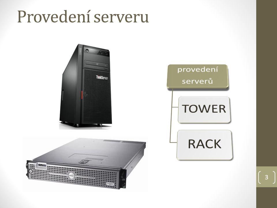 3 Provedení serveru