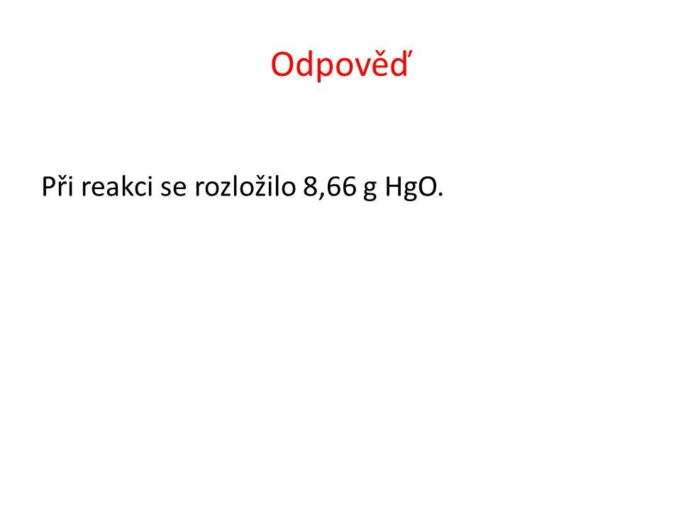 Vypočítejte, kolik dm 3 NO vznikne reakcí 10 g mědi s kyselinou dusičnou za standardních podmínek.