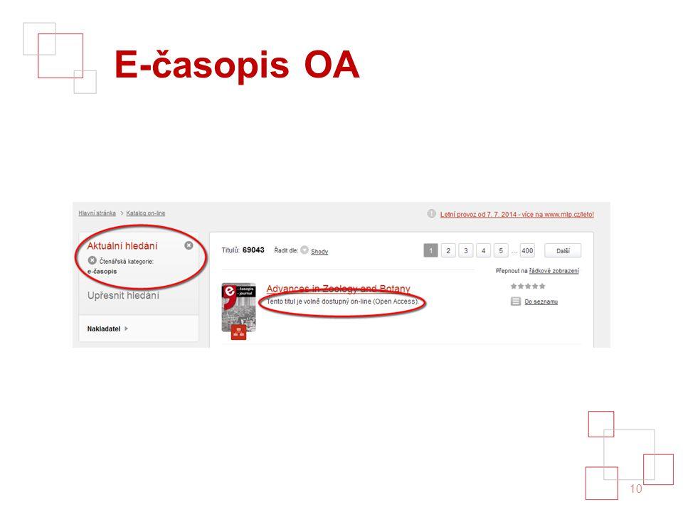 E-časopis OA 10