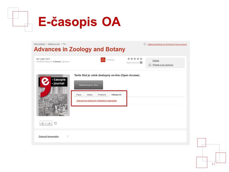 E-časopis OA 11