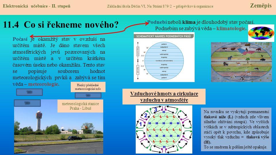 11.5 Procvičení a příklady Elektronická učebnice - II.