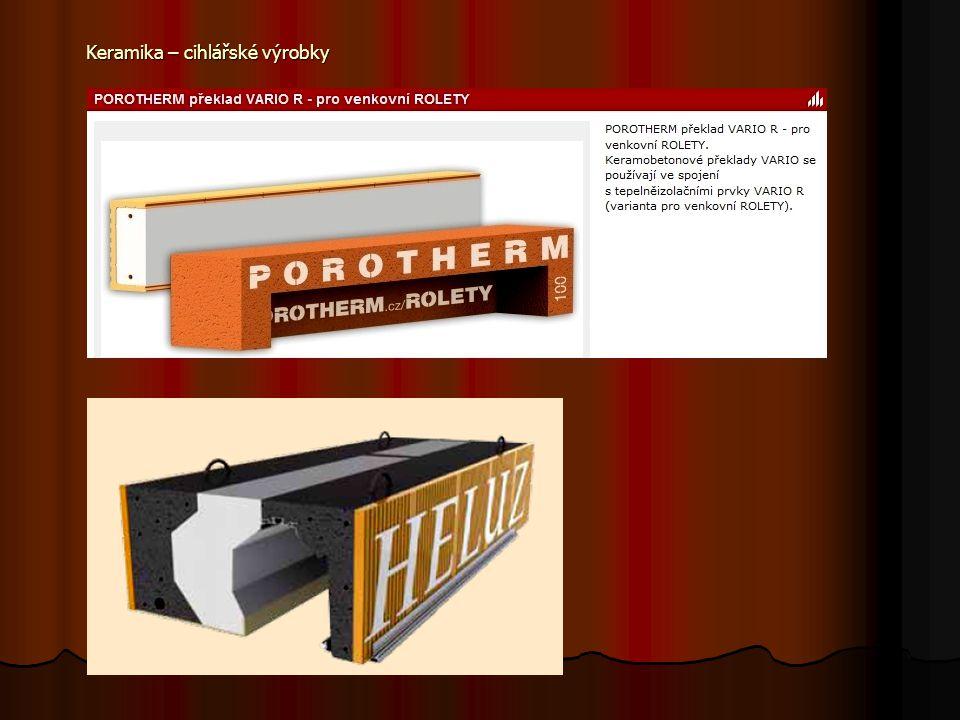 Věncovky ztracené bednění pro betonáž věnců ztracené bednění pro betonáž věnců nutná kombinace s tepelnou izolací nutná kombinace s tepelnou izolací