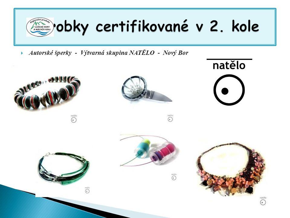  Autorské šperky - Výtvarná skupina NATĚLO - Nový Bor