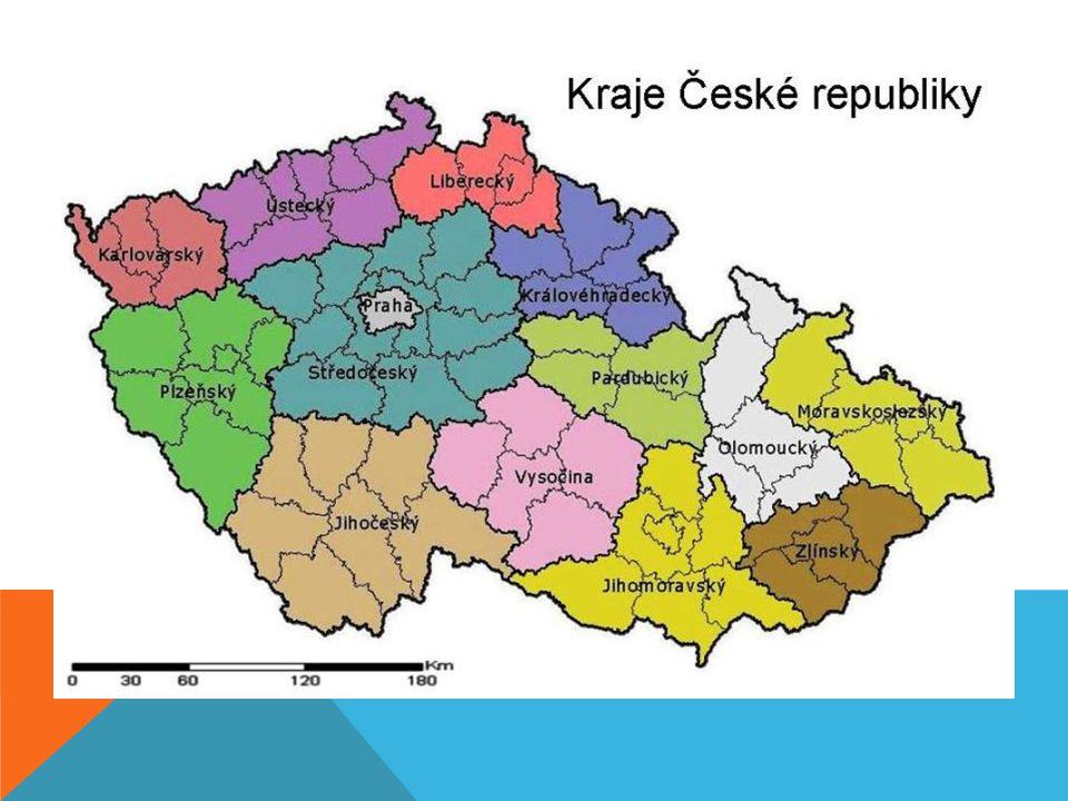 ZDROJE: http://www.zemepis.com/krajecr.php http://cs.wikipedia.org/wiki/Soubor:Karlovy_Vary_Region_CoA_CZ.svg http://cs.wikipedia.org/wiki/Soubor:Ml%C3%BDnsk%C3%A1_kolon%C3%A1da_Karlovy_Var y.JPG http://cs.wikipedia.org/wiki/Soubor:Plzen_Region_CoA_CZ.svg http://cs.wikipedia.org/wiki/Soubor:Stary_Plzenec_(CZE)_-_rotunda.jpg http://cs.wikipedia.org/wiki/Soubor:South_Bohemian_Region_CoA_CZ.svg http://cs.wikipedia.org/wiki/Soubor:Jindrichuv_hradec_2.jpg http://cs.wikipedia.org/wiki/Soubor:Vysocina_Region_CoA_CZ.svg http://cs.wikipedia.org/wiki/Soubor:Church_of_St_John_of_Nepomuk_at_Zelena_aora_CZ.j pg http://cs.wikipedia.org/wiki/Soubor:Pardubice_Region_CoA_CZ.svg http://cs.wikipedia.org/wiki/Soubor:Litomy%C5%A1l,_Schloss.jpg http://www.ceskarepublika.estranky.cz/clanky/kraje-cr.htm Obrázky: [online] [cit.