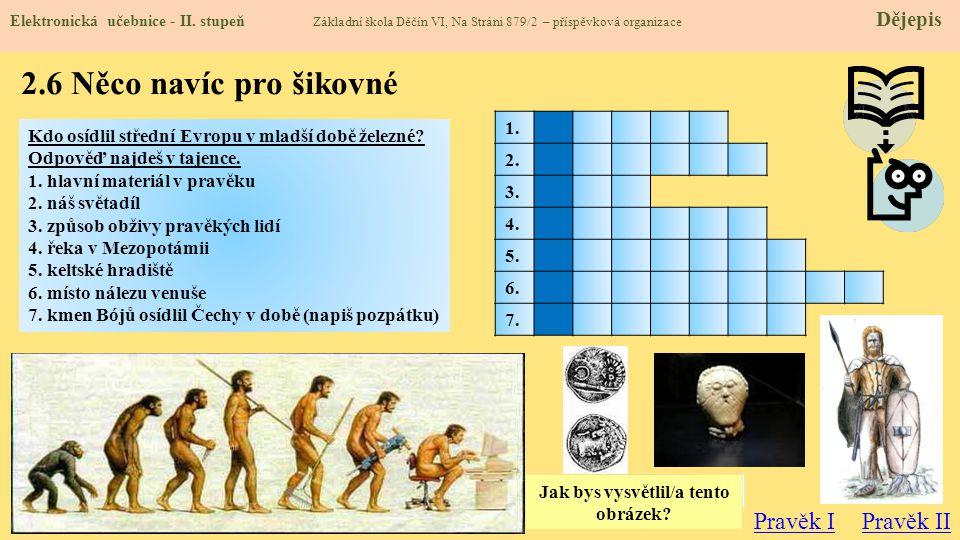 2.7 CLIL (Prehistory) Elektronická učebnice - II.