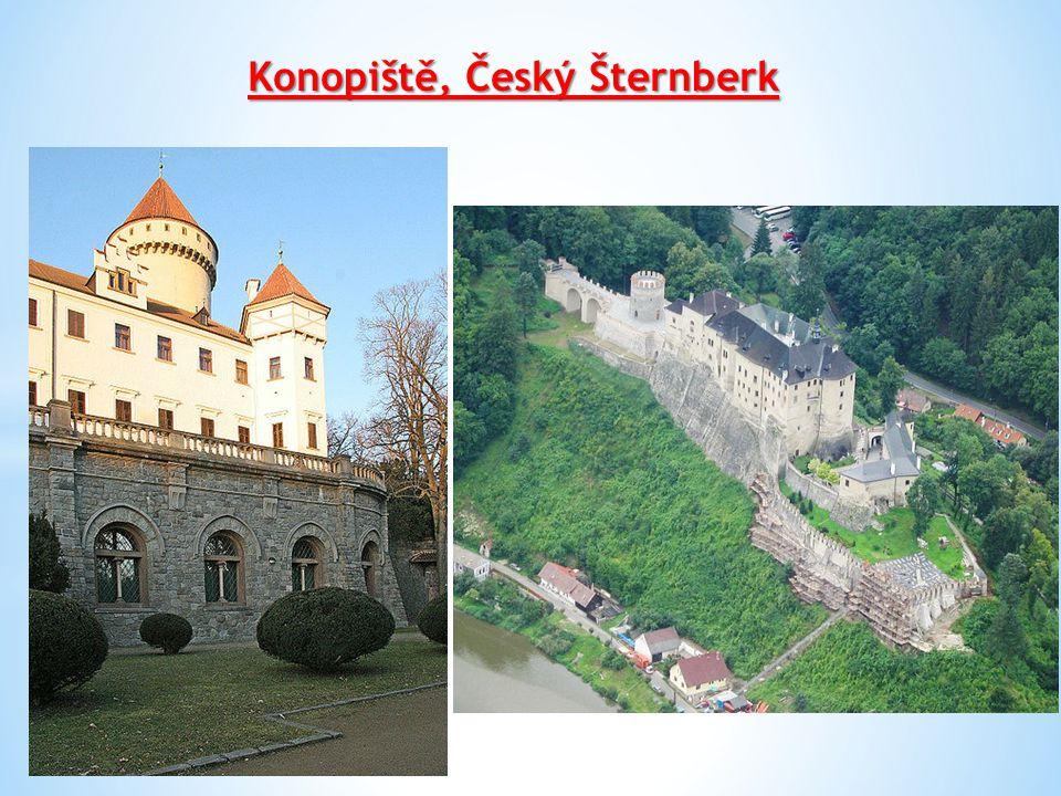 Konopiště, Český Šternberk